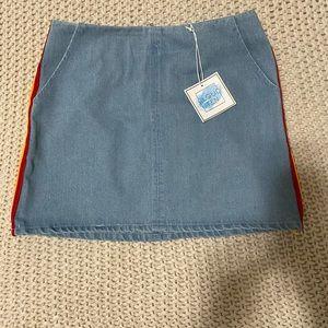 Cloud Ten mini skirt